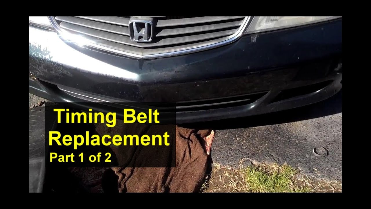 Honda Odyssey Timing Belt Replacement, How To. Part 1 Of 2   VOTD   YouTube