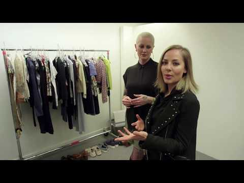 Tour of Make up and Wardrobe with Mackenzie Porter