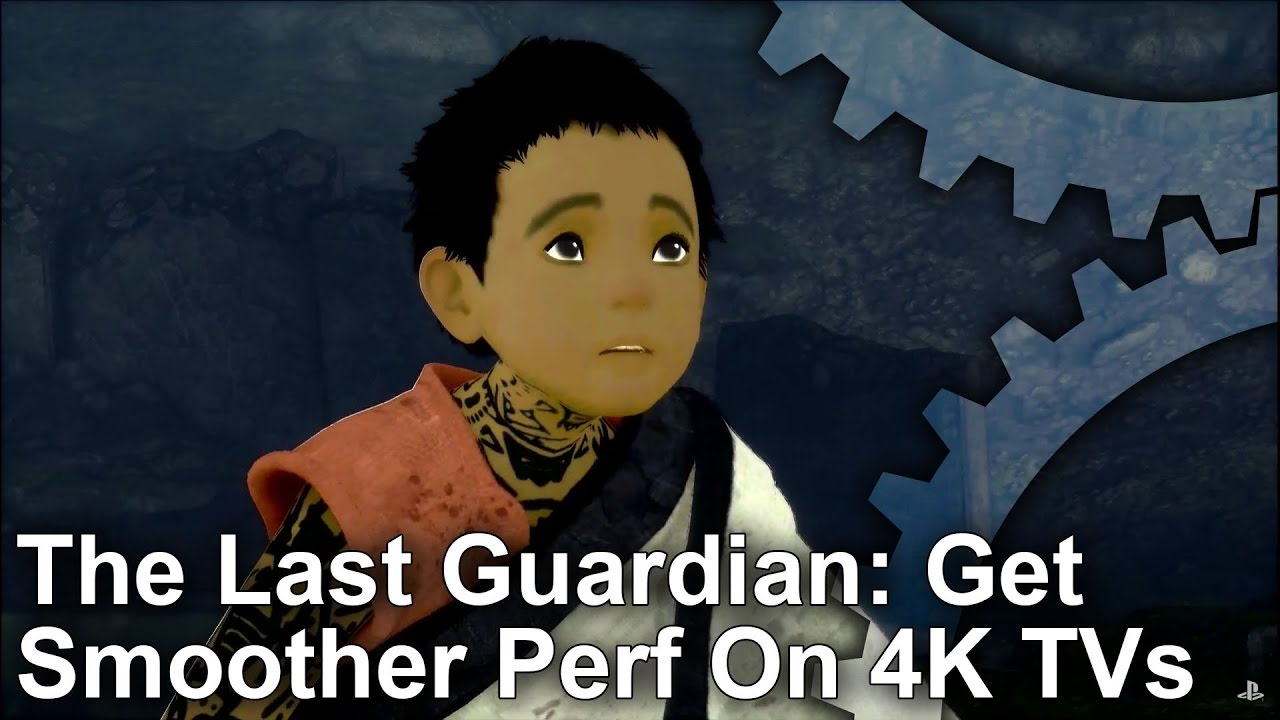 How to access smoother performance for The Last Guardian on