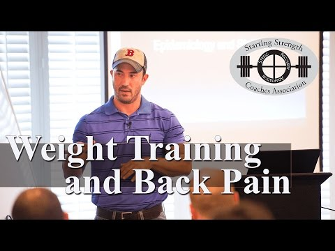 Weight Training with Low Back Pain (Part 1) | Will Morris, PT, DPT, SSC