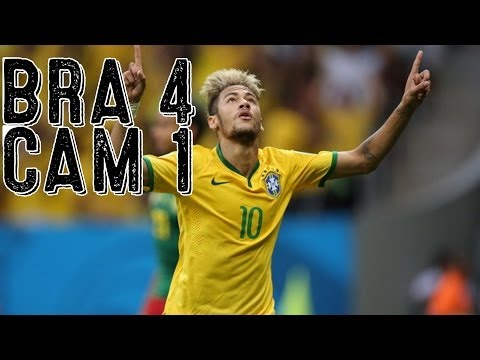 Neymar World Cup Leading Scorer, Brazil Cruises Past Cameroon [Brazil vs. Cameroon Recap]