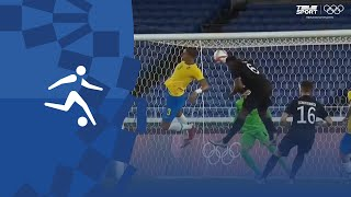 Олимпиада 2020 Бразилия U23 Германия U23 4 2 Обзор матча все голы и лучшие моменты