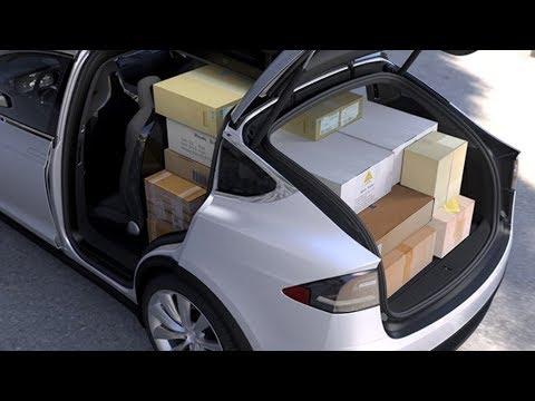 2019 tesla model x actual cargo space youtube. Black Bedroom Furniture Sets. Home Design Ideas
