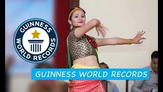 DANCE GUINNESS BOOK RECORD  BY BANDANA NEPAL IN NEPAL