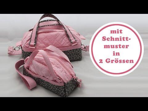 Handtasche nähen mit Schnittmuster | Handtasche Paris als Mini und Me