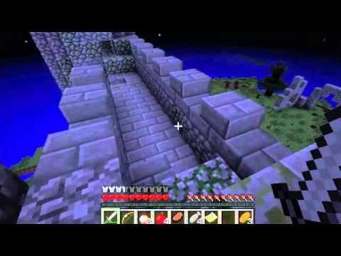 MINECRAFT HUNGER GAMES Herobrine And EPIC OCEAN FIGHT - Minecraft herobrine spiele