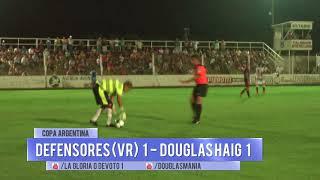 Defensores (VR) 1 - Douglas Haig 1 Copa Argentina