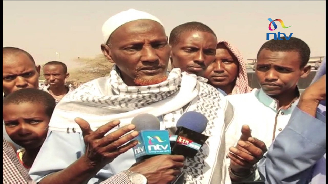Praying for rain: Wajir residents gather to pray for skies to open