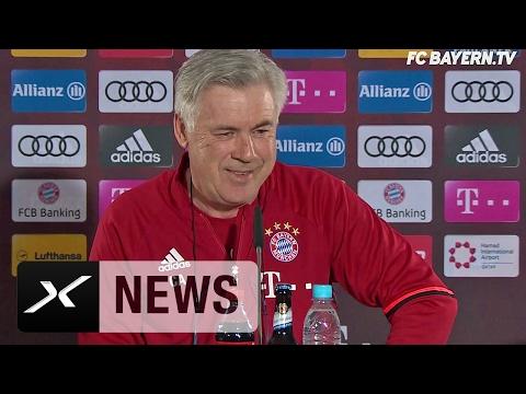 Carlo Ancelotti spricht über Philipp Lahm, den FCI und  Franck Riberys Fitness | FC Bayern München
