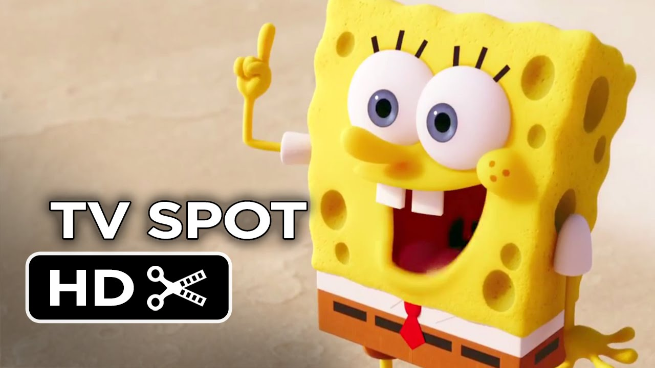 spongebob absorbing water