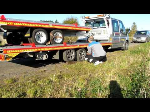 Fitzel SPEEDER odtahová hliníková nástavba - vymena zadni pneu B