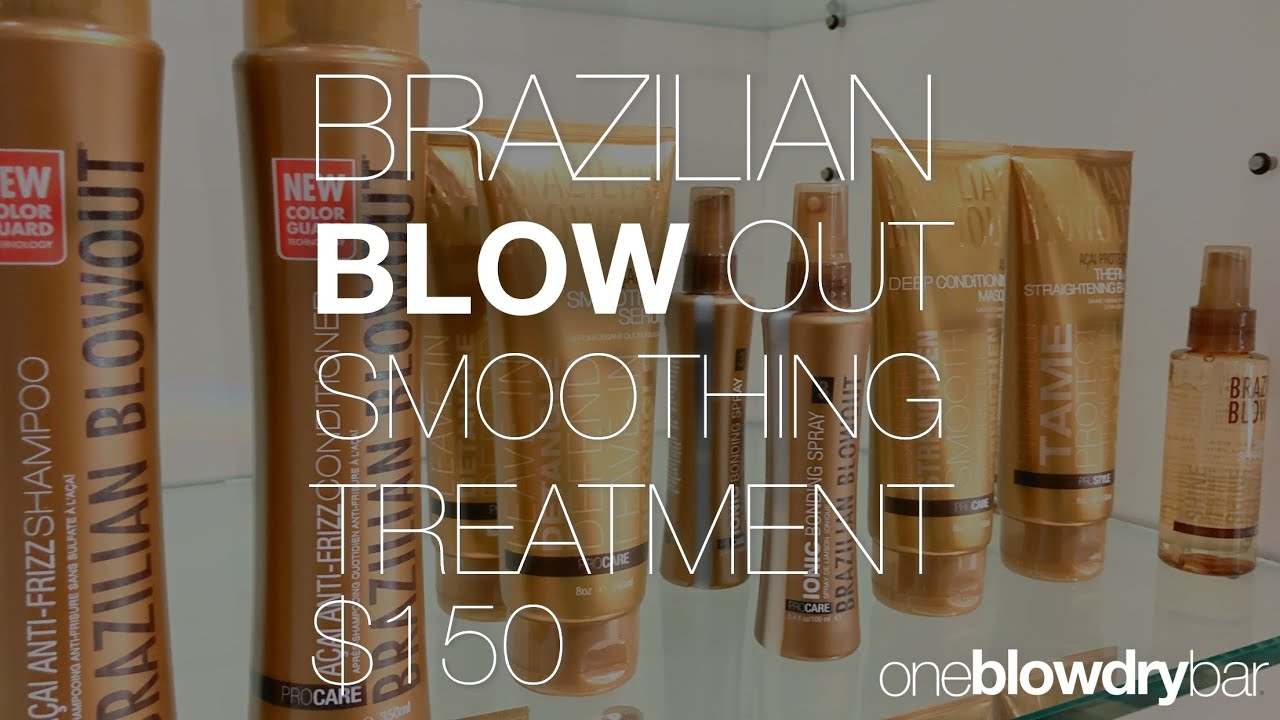 one blow dry bar