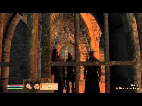TESIV: Oblivion - Beginning dungeon