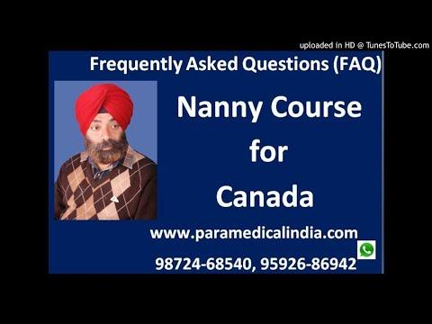 Nanny Course For Canada 9592686942,9872468540