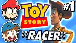 DANDO OUTRA CHANCE A ESSE JOGO! – Toy Story Racing #01
