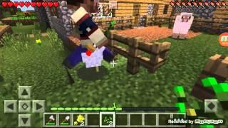 Как построить ферму животных - Minecraft PE 0.13.1