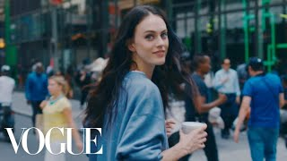 Walking New York City with Model Sarah Brannon | Vogue