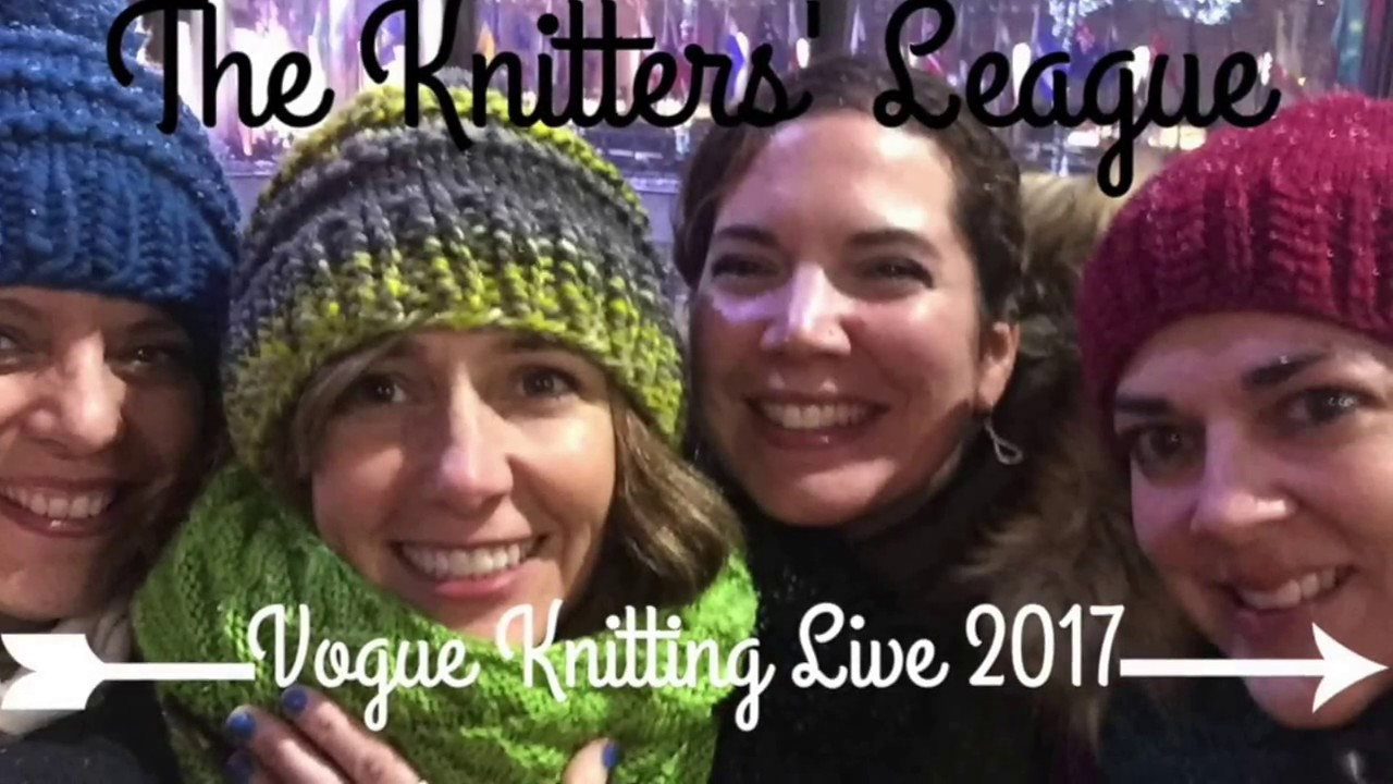 Knitting Expat Instagram : The knitters league vogue knitting live doovi