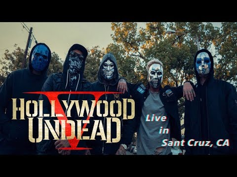 Hollywood Undead Live in Santa Cruz, CA 2017