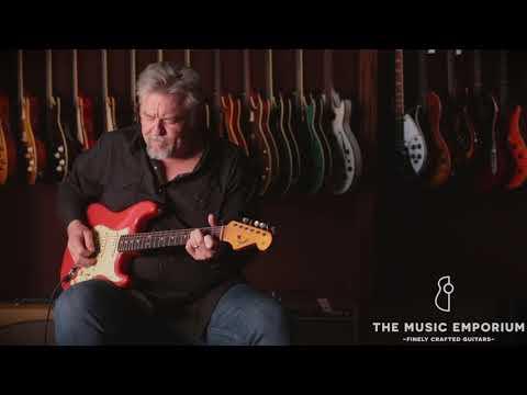 1964 Fiesta Red Fender Stratocaster @ The Music Emporium
