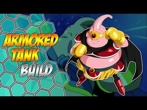 ARMORED TANK BUILD [Male Majin Passive Synergy] Dragon Ball Xenoverse 2