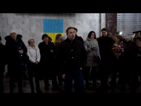 ПОЛНОЕ ВИДЕО Флешмоб на вокзале в Одессе Смуглянка