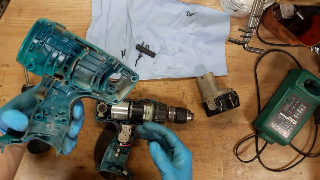 How to disassemble and find problem in Makita 6317D 12V NI-MH cordless drill
