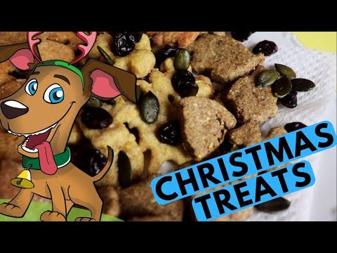 Christmas Dog Treats Recipes