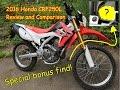 2016 Honda CRF250L first ride, review and comparison to Hawk250, PLUS secret bonus