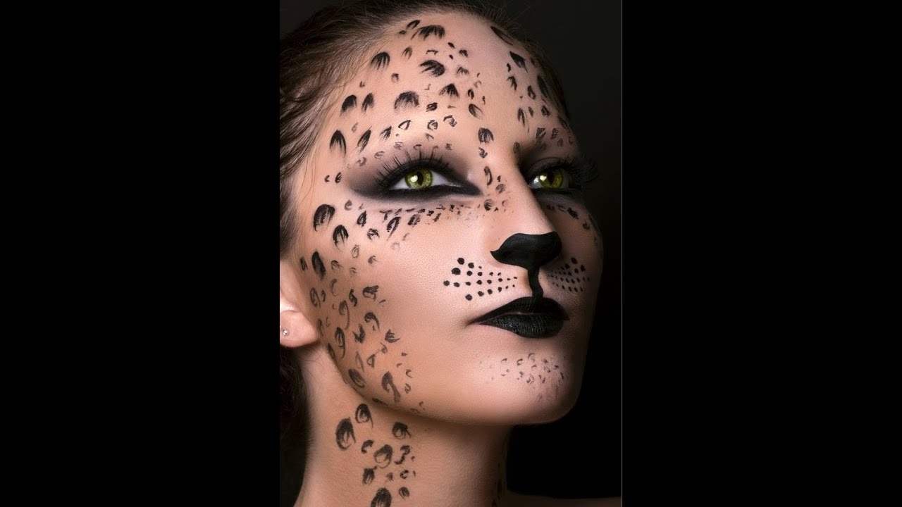 cat felinetiger makeup halloween - Tiger For Halloween
