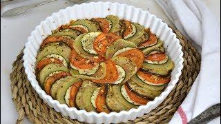 Ratatouille. Receta francesa de verduras asadas al horno ¡Fácil, sana y deliciosa!