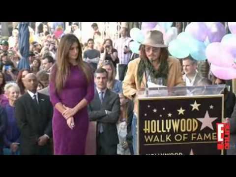 Penelope Cruz - Star Ceremony with Johnny Depp