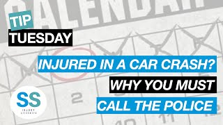 Make Sure To Call The Police After A Car Accident