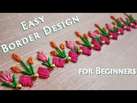 Simple Border Design / Tutorial / Easy to Learn thumbnail