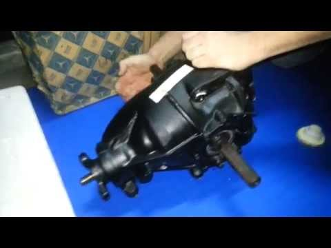 Mercedes Benz limited slip differential W116 test LSD