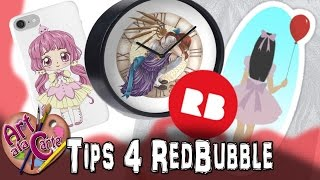 Tips for starting a Red Bubble Shop