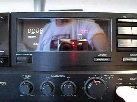 tape deck akai gx 95 youtube. Black Bedroom Furniture Sets. Home Design Ideas