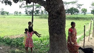 Beautiful life in a village of India