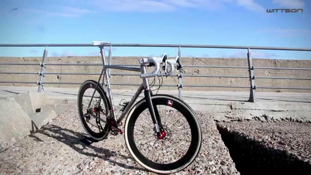 Wittson Custom CX 001 Cyclocross Disc Titanium Bicycle - YouTube