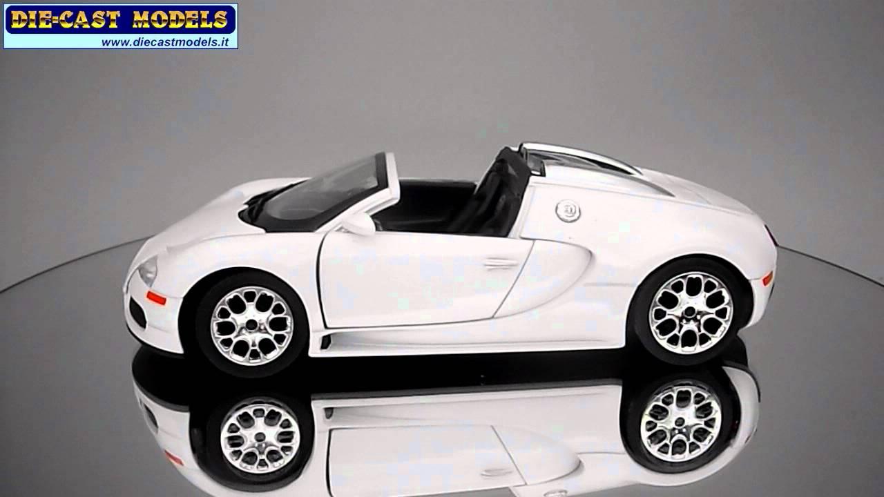 Bugatti Veyron Roadster - Sdy - 1:24 - YouTube