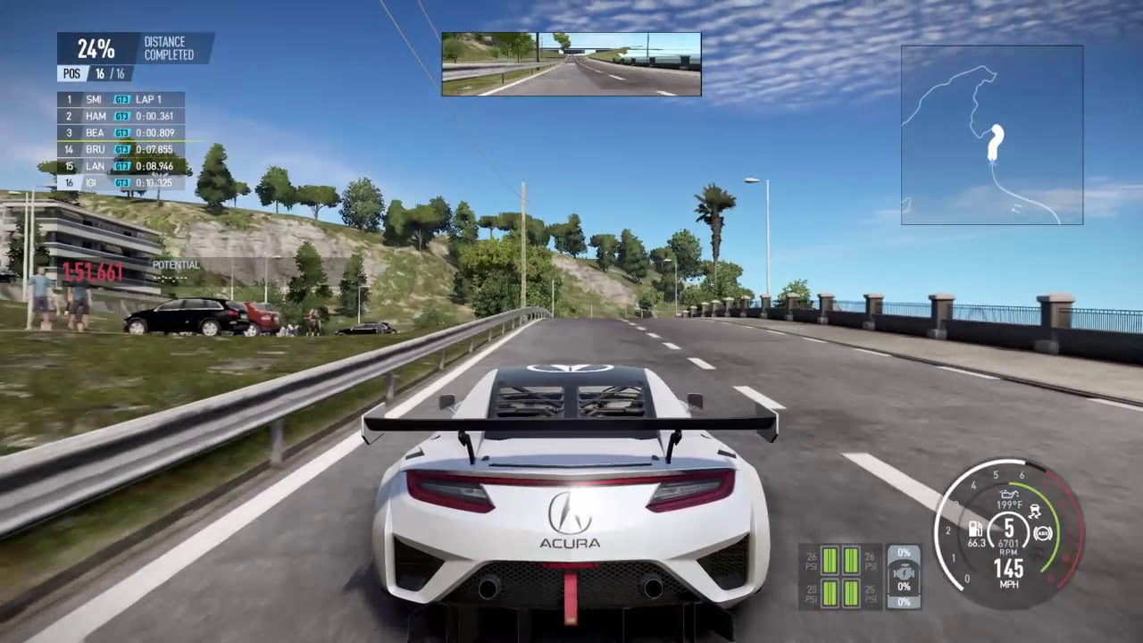 Acura NSX GT3 - Project CARS 2 2017 - PS4 - FRANCE - YouTube