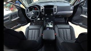 Mitsubishi Pajero IV - установка комфортных сидений BMW, омыватель камеры, свет.
