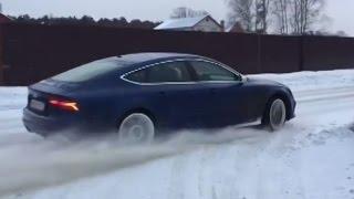 Audi RS7 - лучшее зимнее полноприводное авто!!!