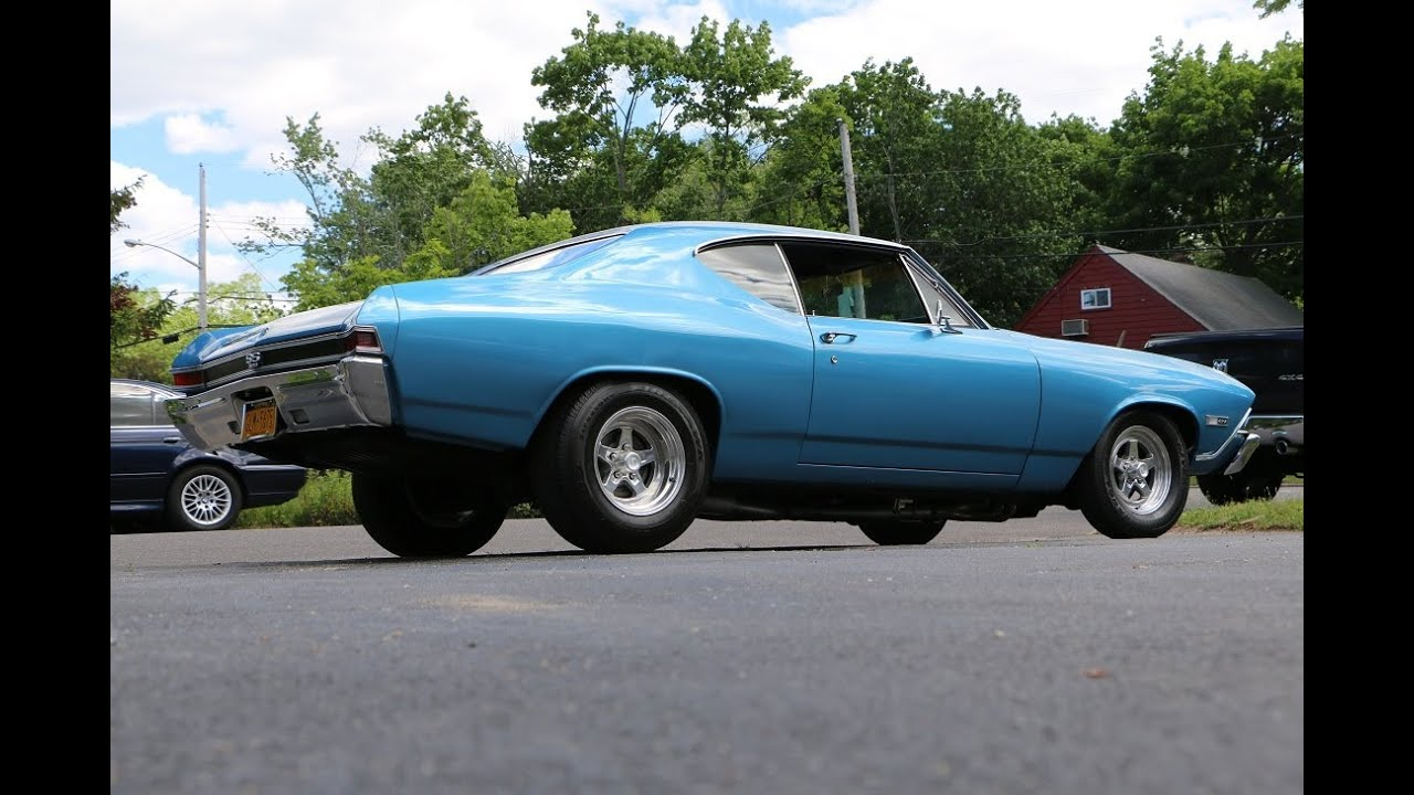 1968 Chevrolet Chevelle SS For Sale~Fresh 396~4 Speed~Marina Blue ...