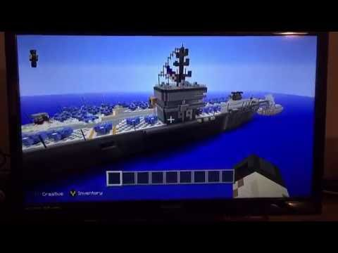 minecraft nimitz aircraft carrier