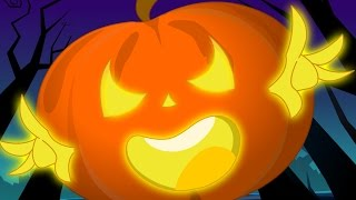 Scary Nursery Rhymes | Scary Pumpkin | More Halloween Songs For Children