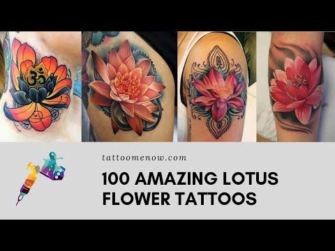 100 Lotus Flower Tattoo Designs And Ideas