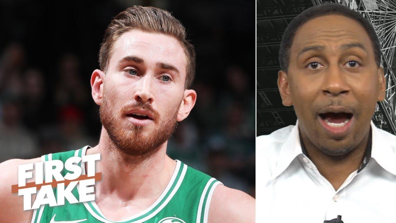 Gordon Hayward disrupted the Celtics' entire season - Stephen A. | First Take