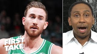 Gordon Hayward disrupted the Celtics' entire season - Stephen A. | First Take