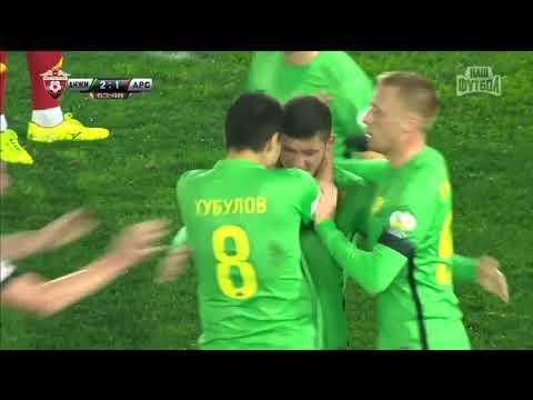 Ayaz Guliev - Anzhi Makhachkala - Arsenal Tula 3:2